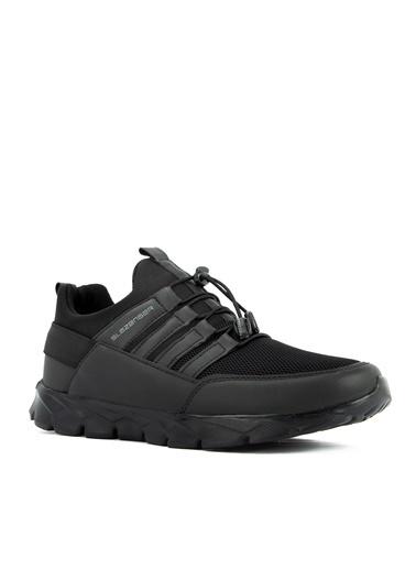 Slazenger Slazenger Intrude I Sneaker Erkek Ayakkabı  Siyah